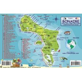 """Bonaire Reef Creatures 5.5""""x8.5"""" LAMINATED"""