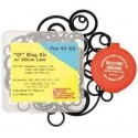 O-Ring Kit with Silicone Grease-40 Piece