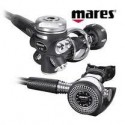 Mares Proton 12 Metal Regulator with Flex Hose