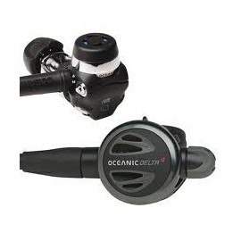 Oceanic Delta 4 Metal DVT (Dry Valve Technology) Scuba Regulator