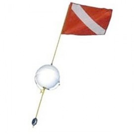 2 pc Dive Flag w-Ball Float