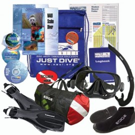 NAUI Open Water Certification Class w/New Student Gear Pack