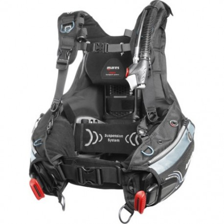 "Mares ""Hybrid She Dives"" Pro TEC Women's Travel Buoyancy Compensator - Women's Travel BCD"