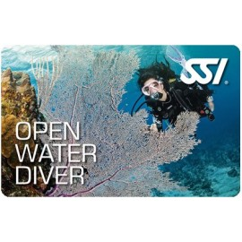SSI Open Water Certification Class w/New Student Gear Pack & E-Learning