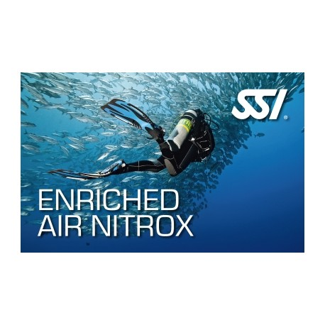 SSI Enriched Air | EANx | Nitrox Certification Class w/E-Learning